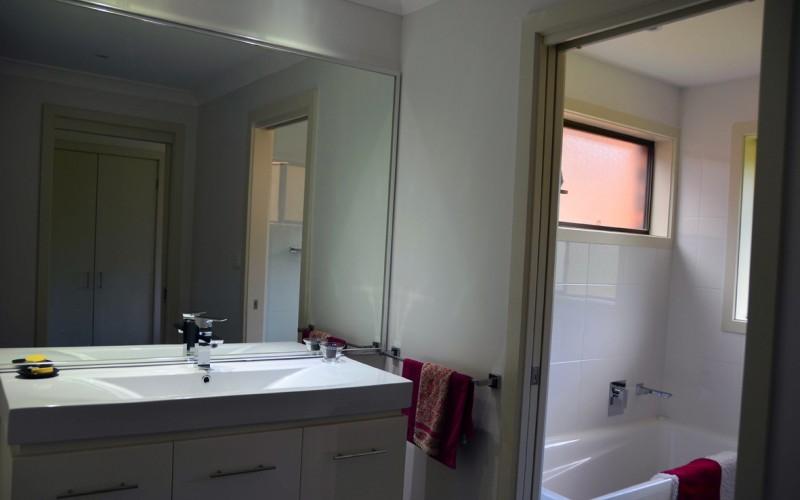 Modern New Bathroom Houston Constructions